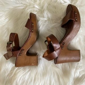COPY - MIA chunky high heeled sandals